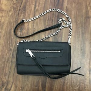 Rebecca Minkoff shoulder/crossbody bag black chain
